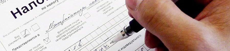 Налоговая декларация по налогу на доходы физических лиц (форма 3-НДФЛ)